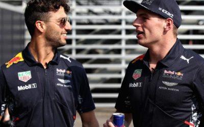 Ricciardo: Max i ja se odlično slažemo