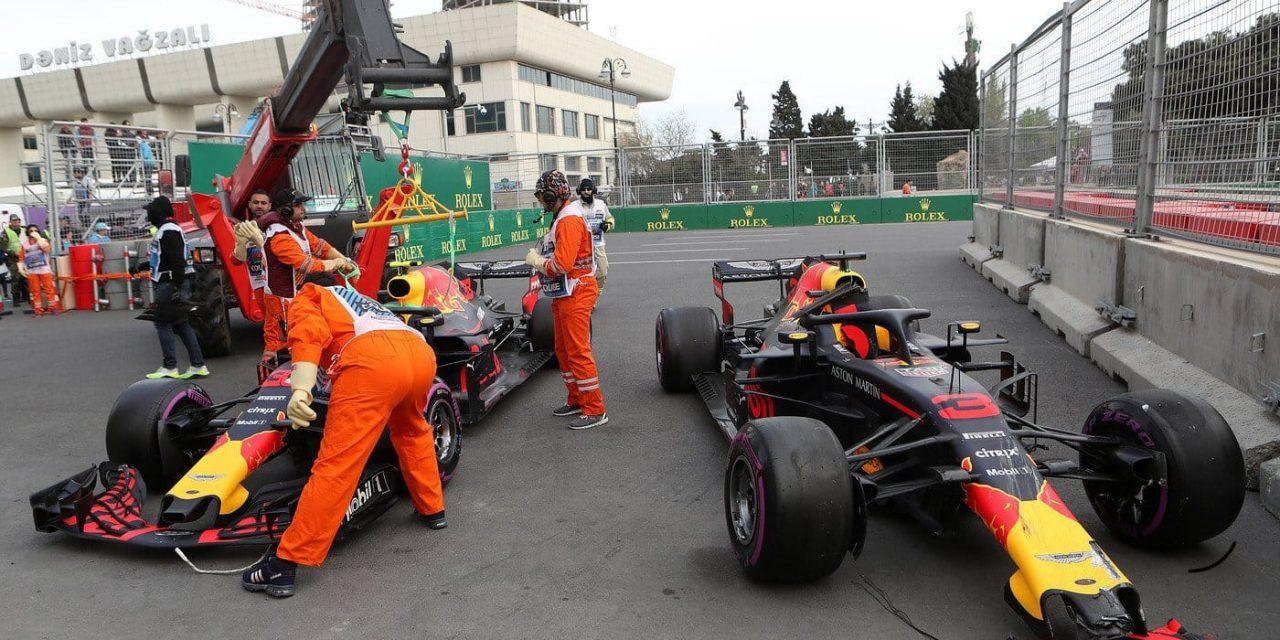 Red Bull krivi oba svoja vozača za incident u Bakuu