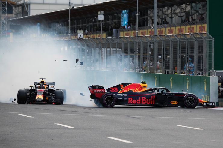 "Sirotkin: Sudar Ricciarda i Verstappena je ""trkaći incident"""