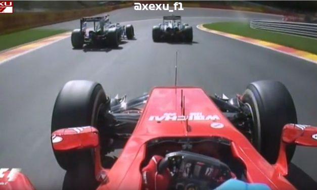 Video: Borbe između Alonsa,Vettela,Buttona i Magnussena na VN Belgije 2014.godine