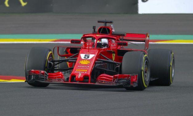 Sebastian Vettel najbrži na otvaranju VN Belgije