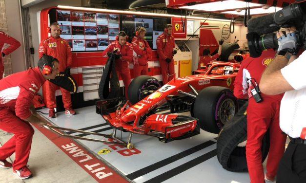 Sebastian Vettel najbrži na 3. treningu