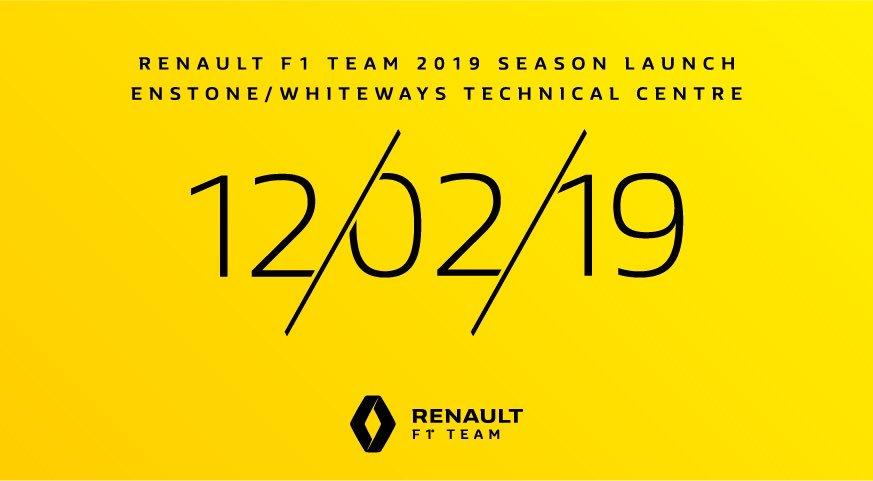 Renault 12. februara predstavlja novi bolid za 2019.