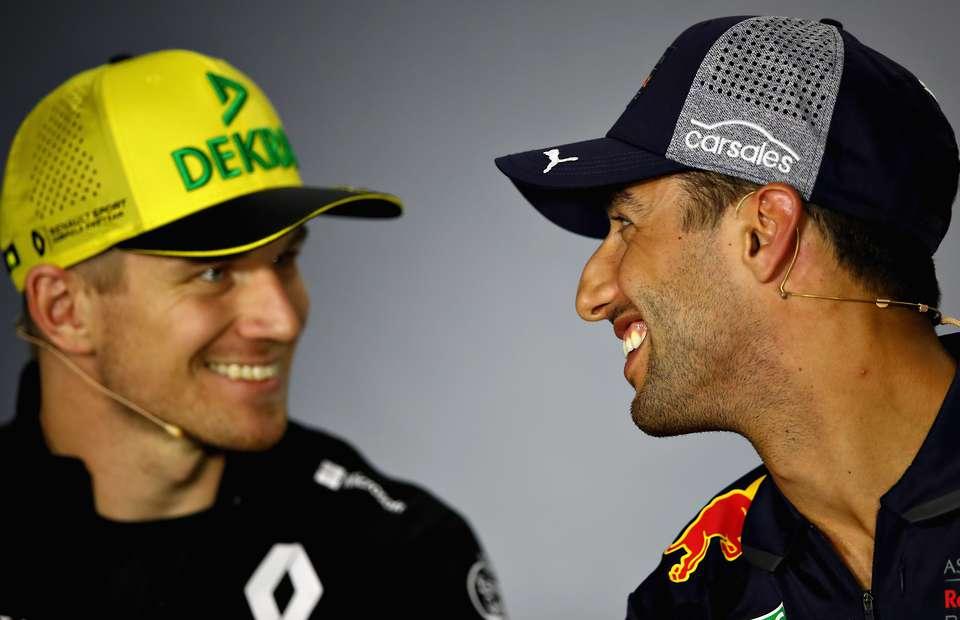 Hulkenberg o Ricciardu: Svi kuhamo samo vodom