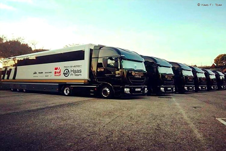 Prvi kamioni F1 ekipa već stigli u Barcelonu