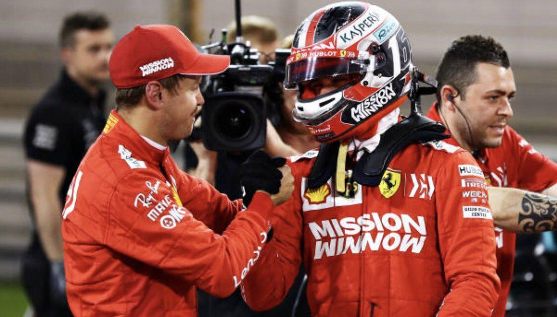 "Vettel i Leclerc moraju ""raditi kao tim"" na startu i ostati prvi i drugi   VN Bahreina 2019."