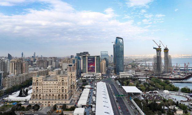 Pravac, tijesnac, dvorac- Baku: Najava VN Azerbejdžana