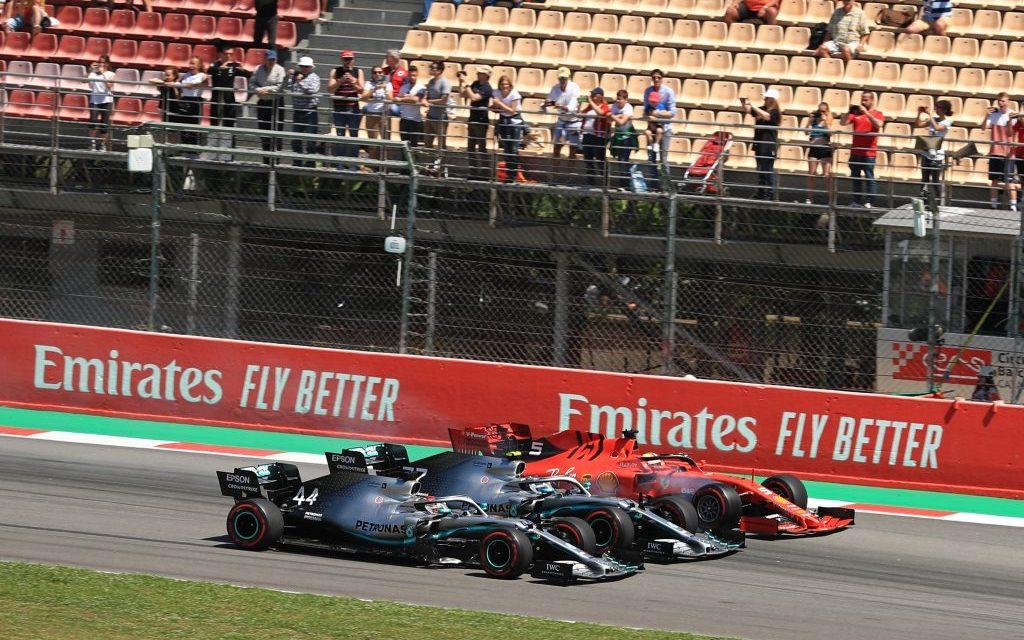 Vettel misli da je učinio uslugu Hamiltonu na startu VN Španije