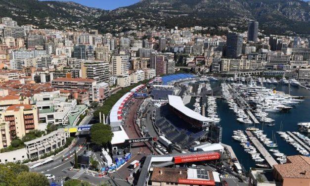 Tunel, ulica: Najava VN Monaka