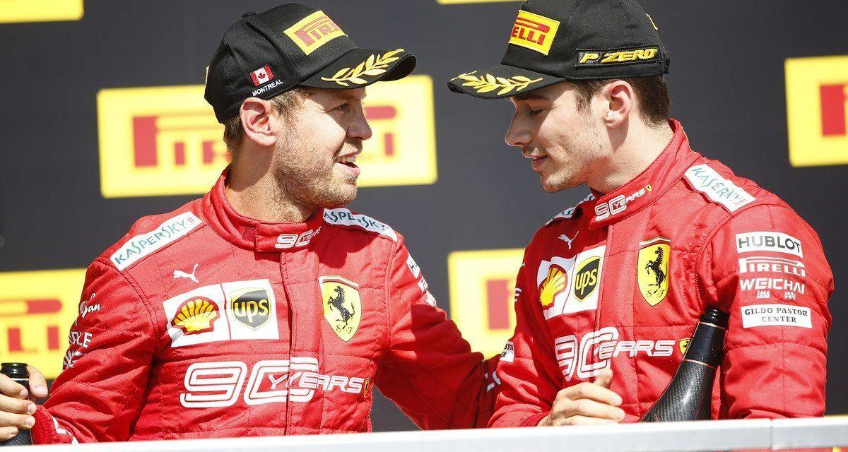 Ferrari 'jednostavno zaboravio' obavijestiti Leclerca o Vettelovoj kazni