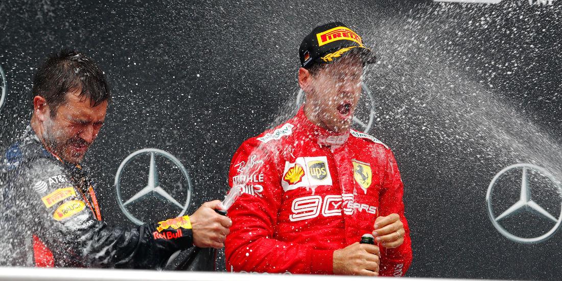 """Vettel: Drugo mjesto """"mala pobjeda"""" za Ferrari"""