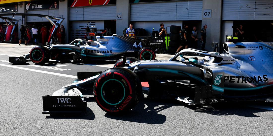 Mercedes zabrinut zbog problema s pouzdanošću pred VN Britanije
