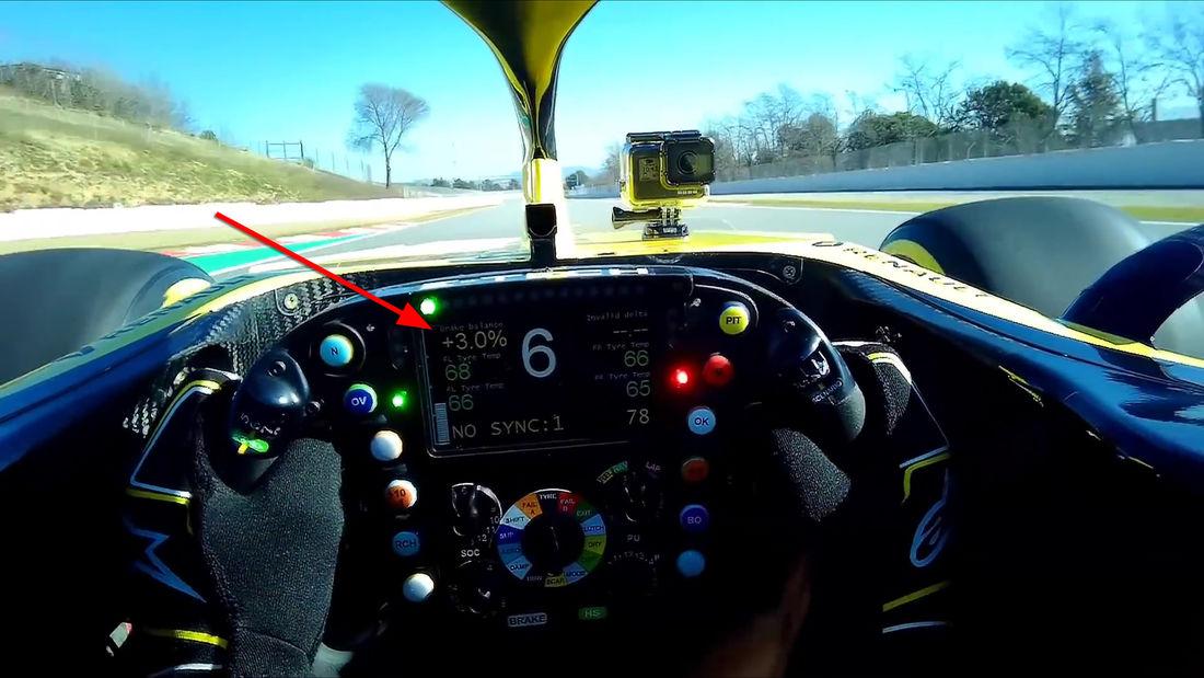 Renault od početka sezone ima sistem automatskog postavljanja balansa kočnica!
