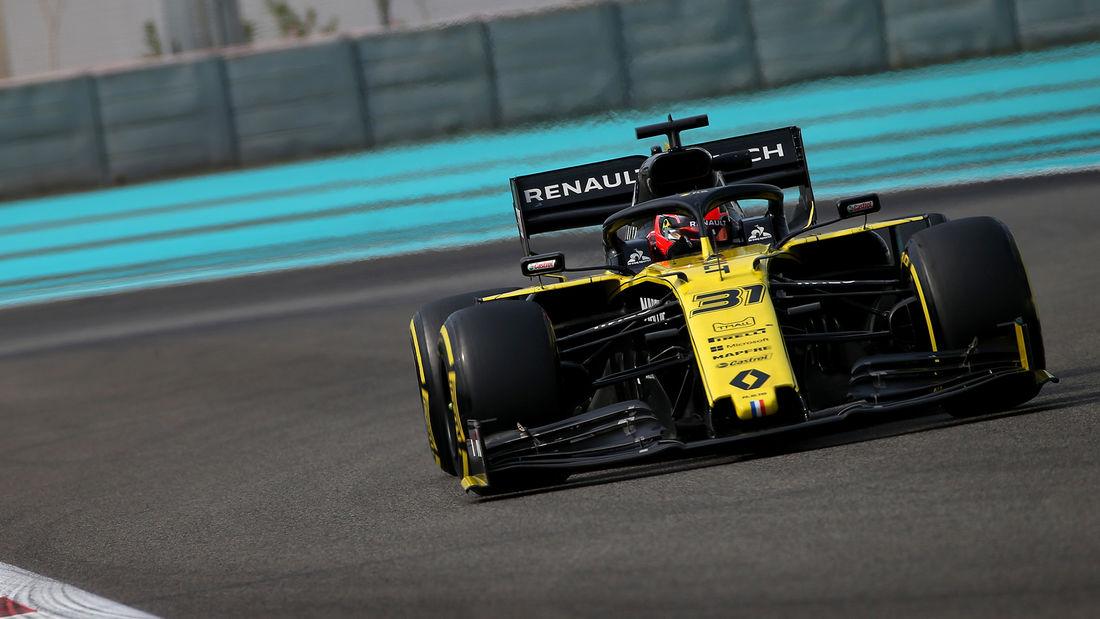 Ocon debitirao za Renault na poslijesezonskom testu u Abu Dhabiju