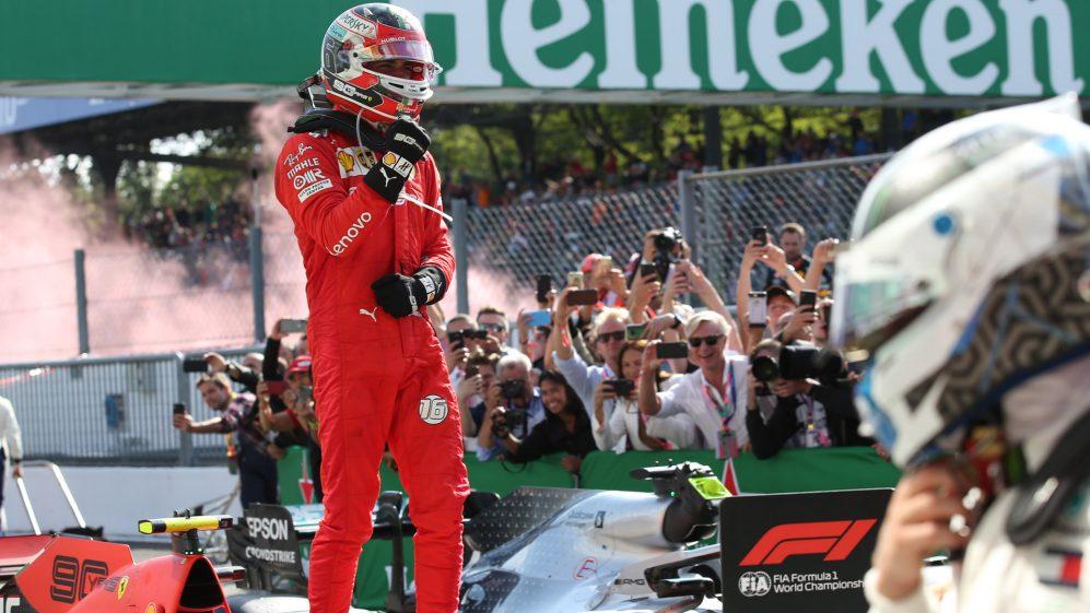 Leclerc se osjeća dijelom Ferrarijeve historije zbog pobjede u Monzi