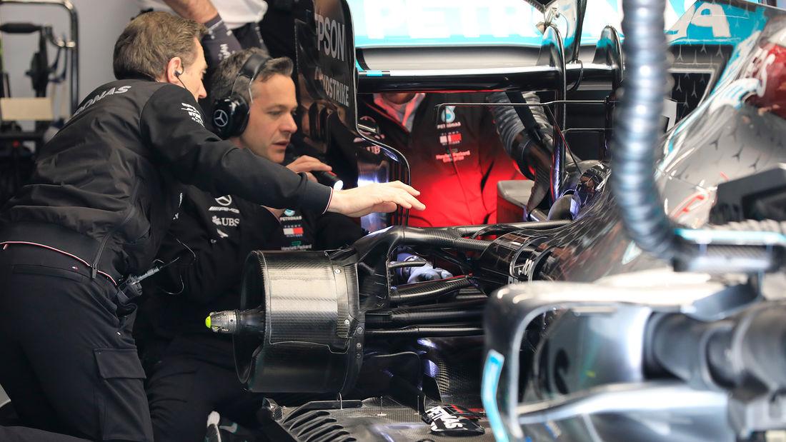 Ferrari prošle godine pitao za pojašnjenje Mercedesovih usisnika na zadnjim kočnicama—FIA tada rekla da je sve okej
