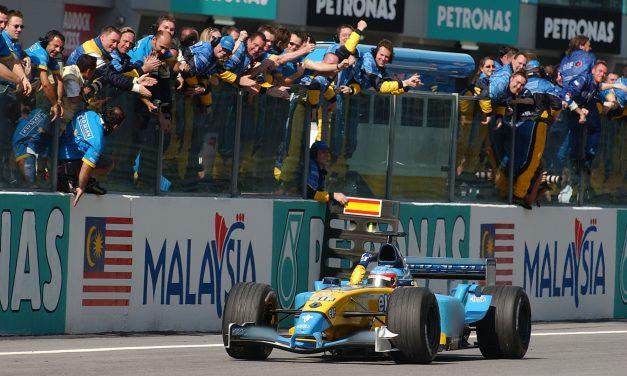 Pole position: Fernando Alonso VN Malezije 2003. – Video