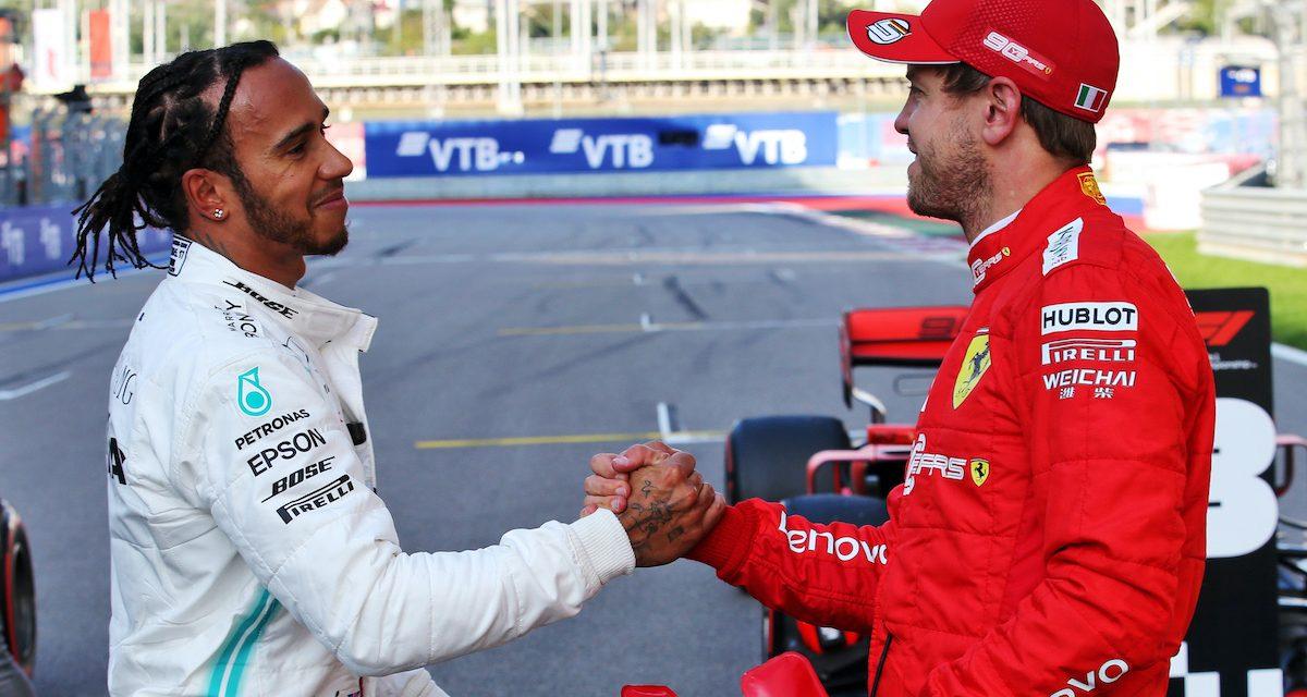 """""""Super tim"""" Vettela i Hamiltona bi bio dobar za Formulu 1—Ecclestone"""