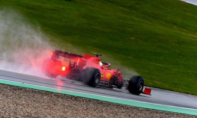 Vettel: Bolid nije bio podešen za kišu