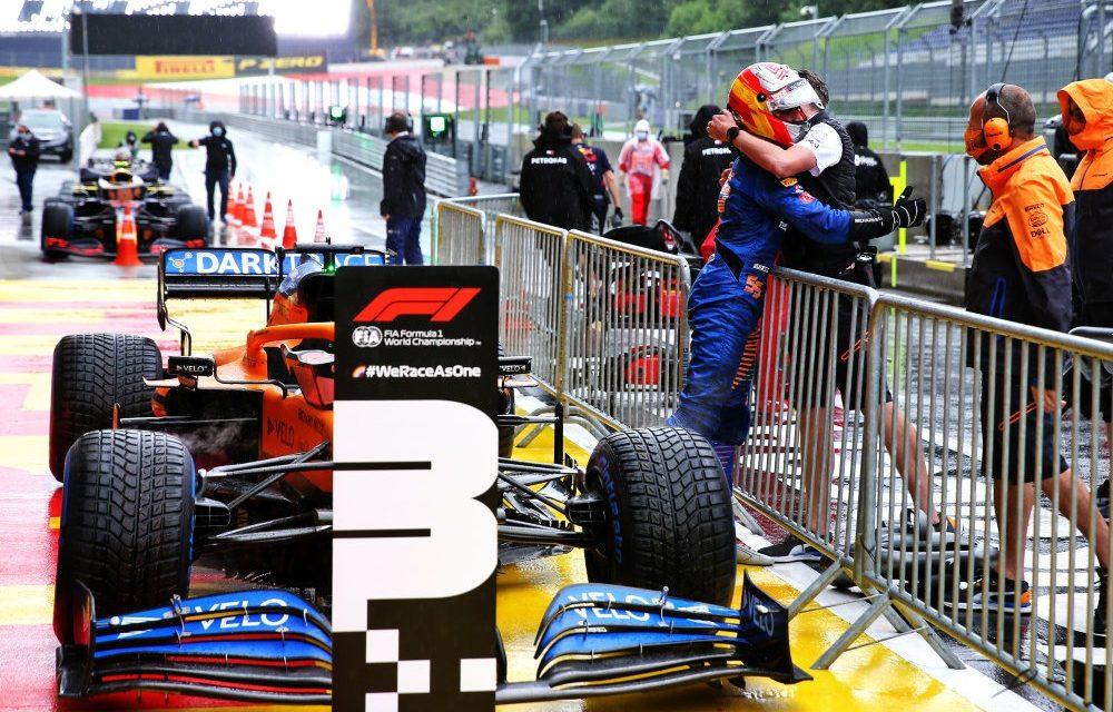 Sainz 'stavio sve na kocku' kako bi osvojio 3. mjesto u 'jako stresnim' kvalifikacijama