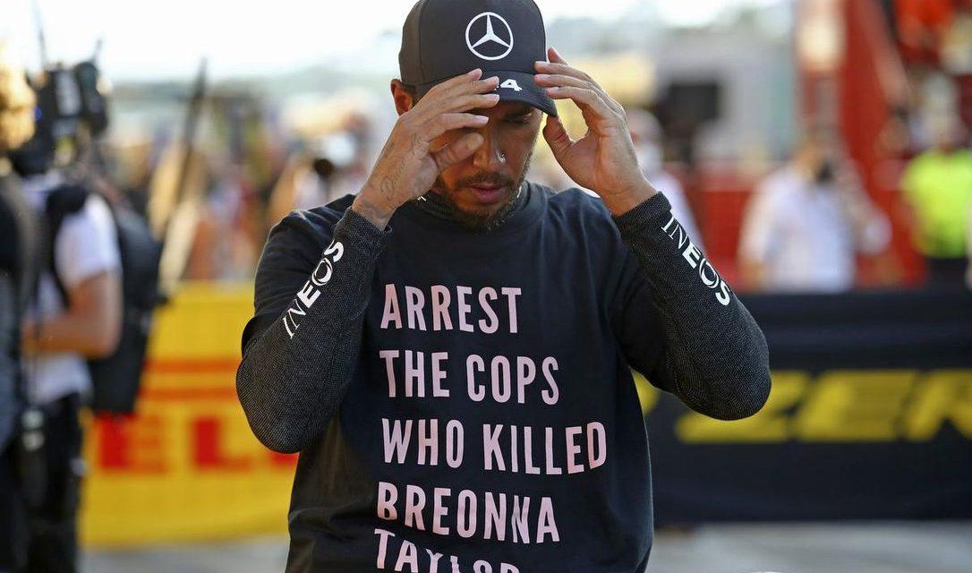 Hamilton pod istragom FIA-e zbog majice koju je nosio u Mugellu