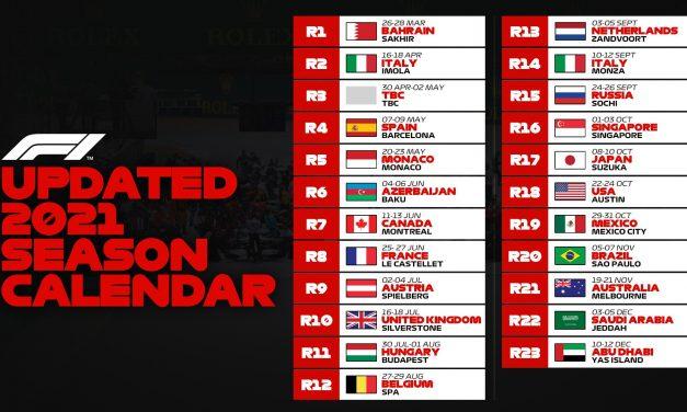 Službeno: Sezona počinje u Bahreinu, Imola se vraća u kalendar