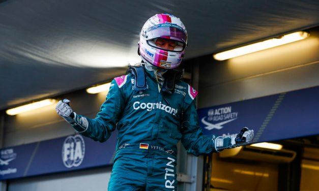 Vettelu 'puno znači' prvo postolje sa Aston Martinom