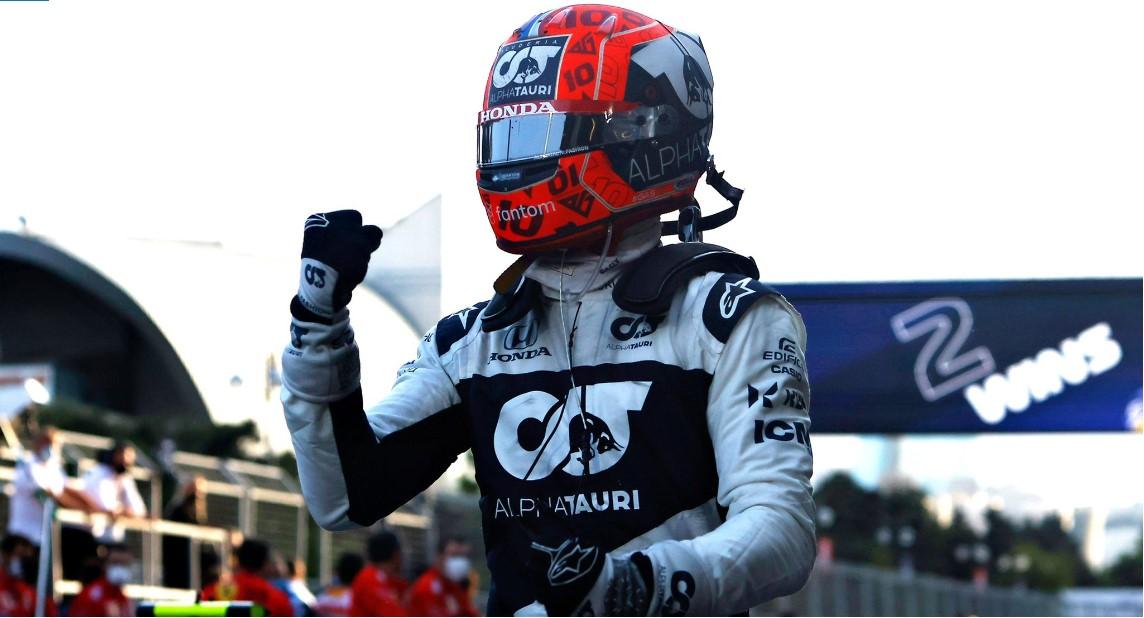 Pierre Gasly najbolje ocjenjeni vozač u Bakuu