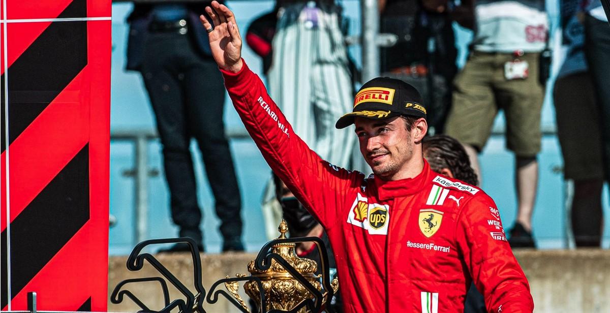 Leclerc dobio čistu desetku za svoje performanse u Silverstoneu!