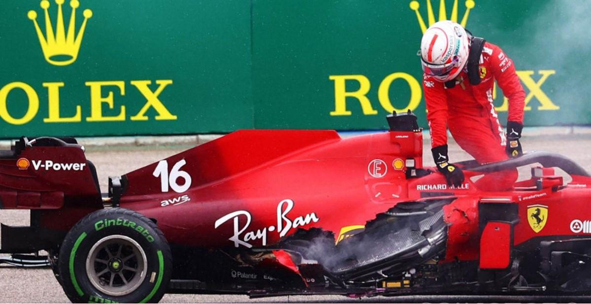 Ferrari: Leclercov motor je uništen u Mađarskoj!