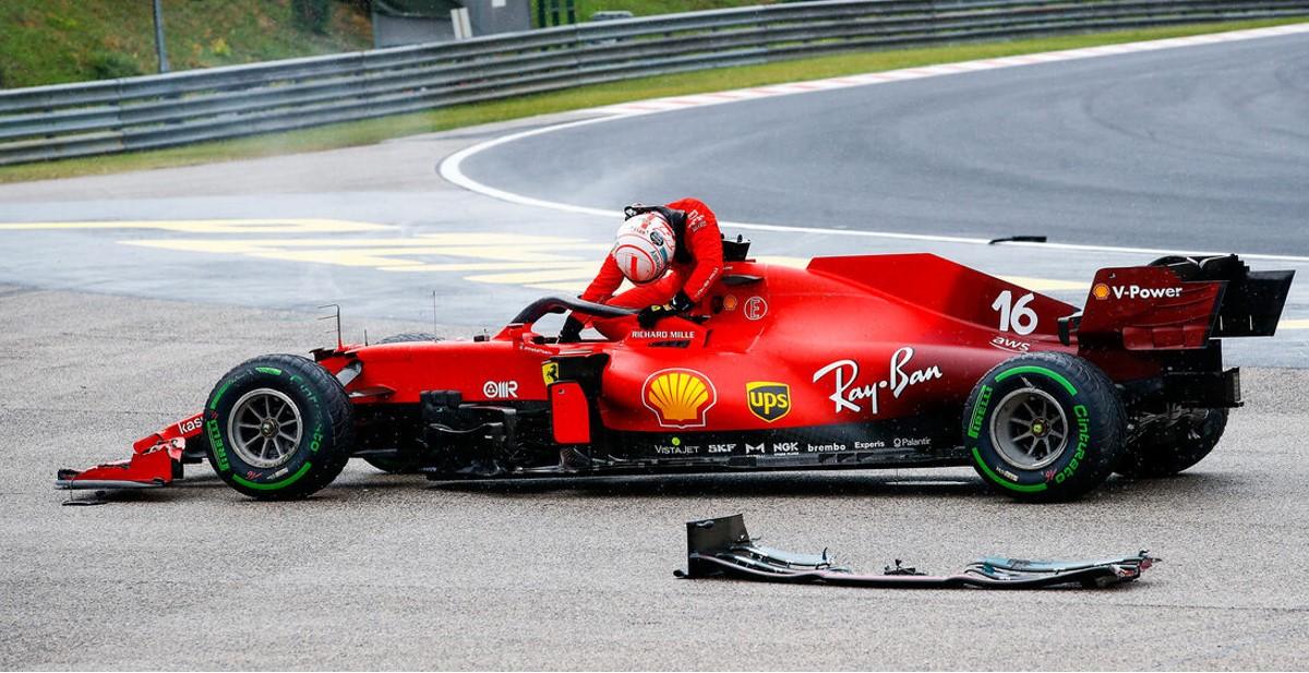 Glupi incident nad Leclercom se nije trebao dogoditi – Ferrari