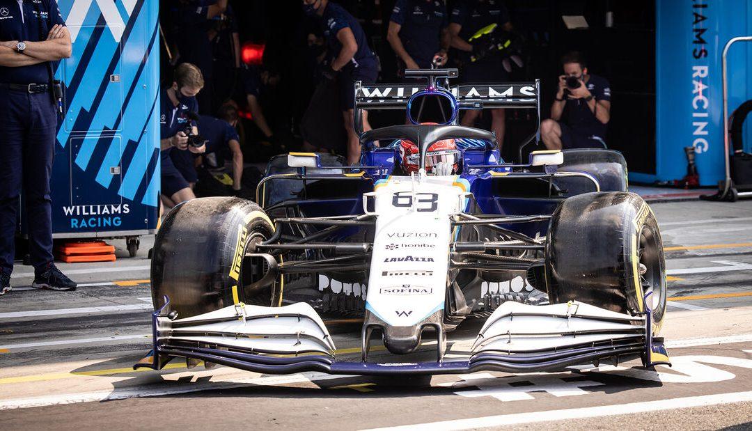 Russell 'ponosan' na niz utrka u bodovima sa Williamsom